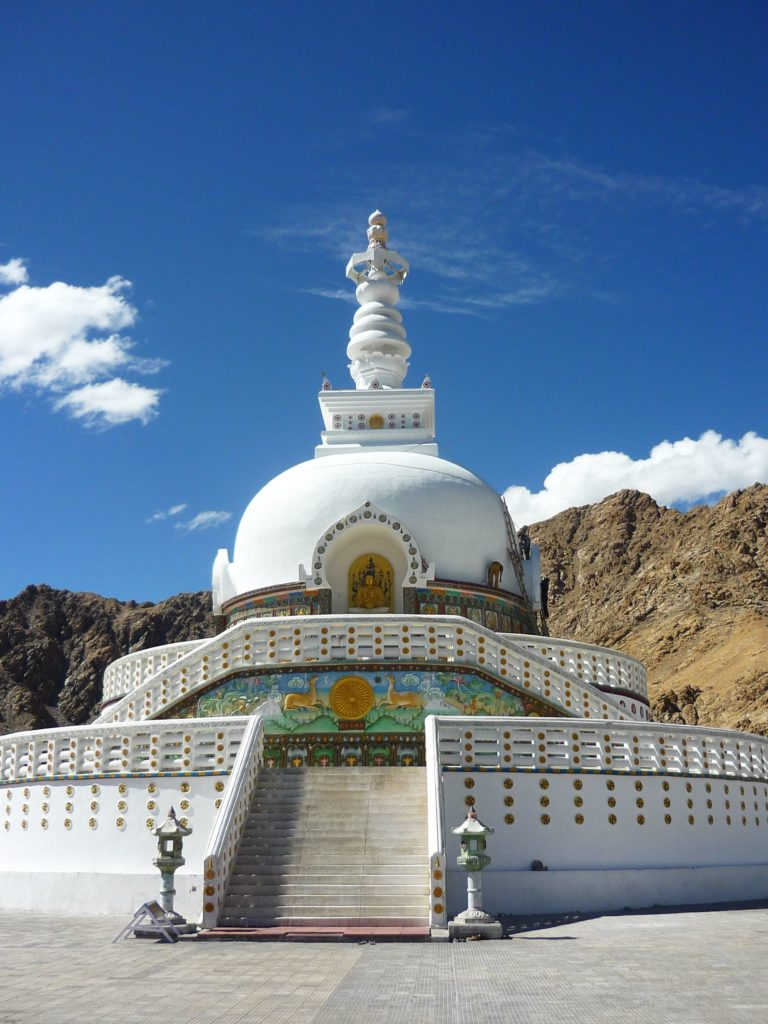 Shanti stupa, fot. Ania Chomczyk