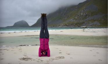 Tapas żar praktyki Joga w święta Wigilia i joga