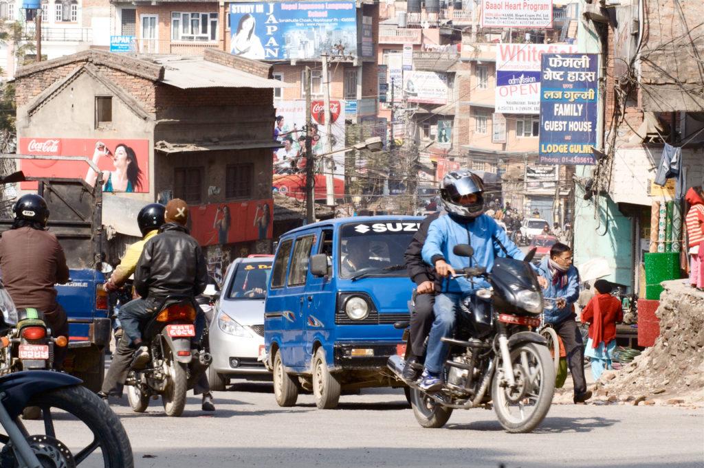 Widok na Kathmandu