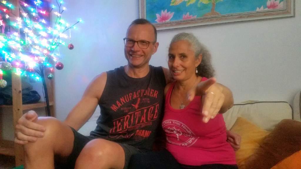 I Ty możesz praktykować na Lanzarote, Camino Diez po praktyce z uczniami