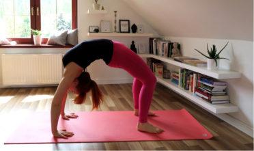 lepszy mostek urdhva dhanurasana, anatomia jogi w praktyce