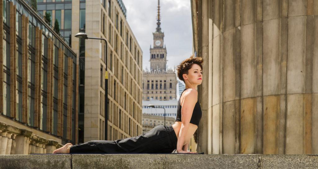 joga, dzień jogi, zdrowie, Pole Mokotowskie