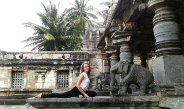 Joginka w podróży blog Ani Chomczyk Bosonamacie.pl joga i podróże