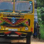 Podróż na Sri Lankę, Jaffna - kolorowa ciężarówka