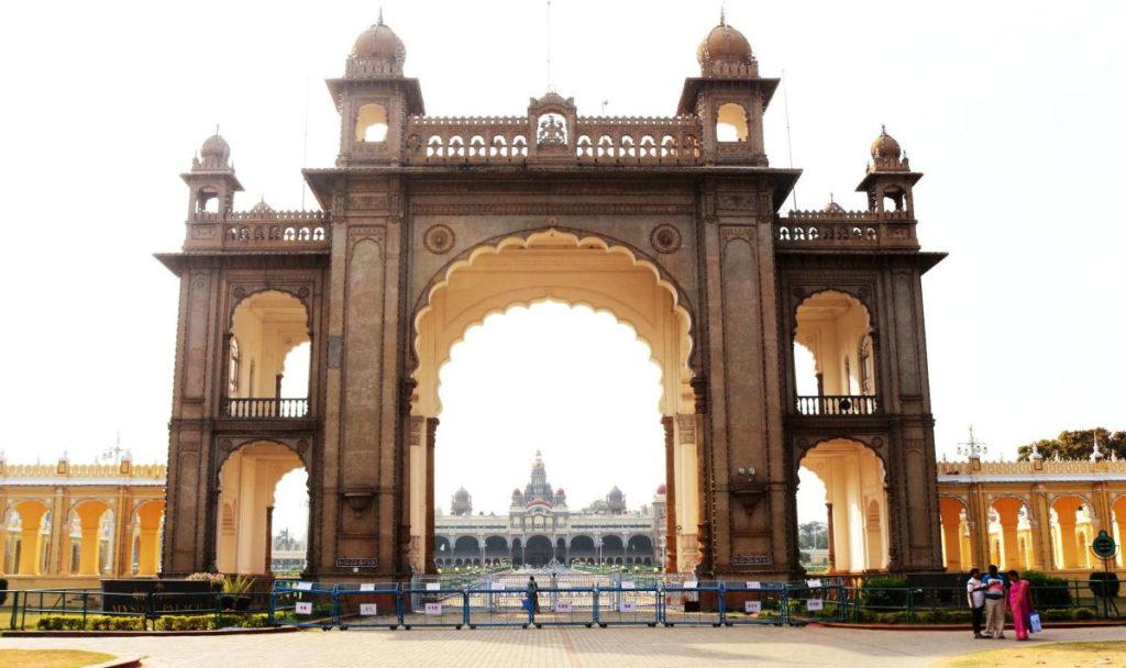 Brama pałacu w Mysore
