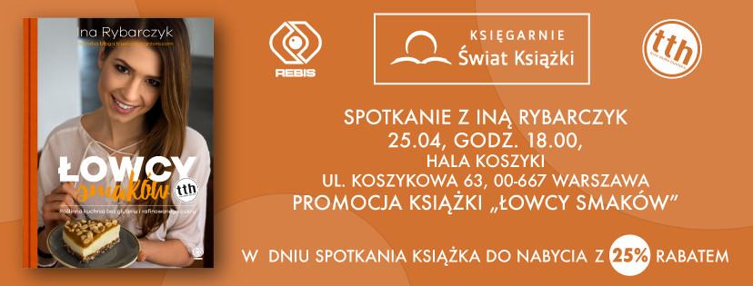 Ina Rybarczyk w Warszawie spotkanie autorskie