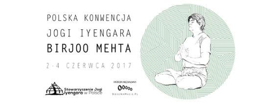Birjoo Metha joga Iyengara Polska Konwencja Jogi Iyengara