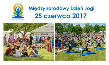 2017 Dzień Jogi 25 czerwca Warszawa Pole Mokotowskie
