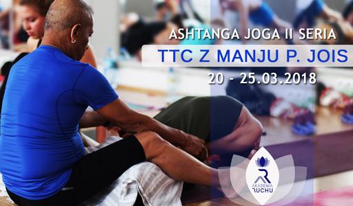 Manju P. Jois TTC ashtanga joga II seria