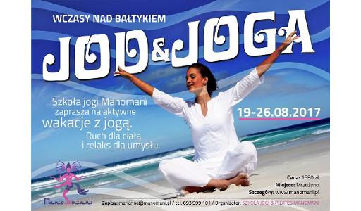 Manomani Joga i Jod wakacje z jogą nad morzem prowadzi Marianna Gutterwil