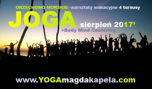 Yoga Magda Kapela wakacje nad morzem z jogą 2017