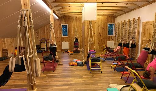 tygodniowy warsztat jogi na Podlasiu wrzesień 2017