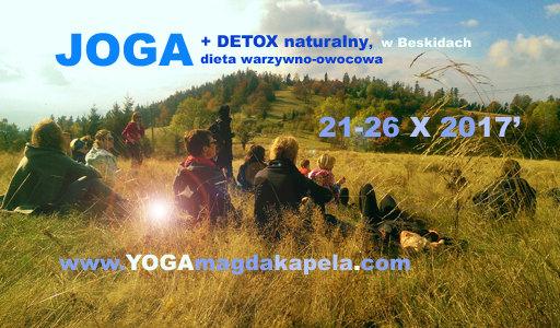 Magda Kapela jesienny detoks joga i detox 2017