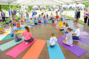 Zajęcia jogi dla najmłodszych