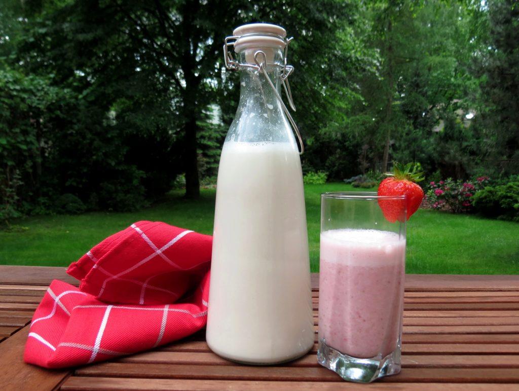 Mleko migdałowe z niejednego garnka