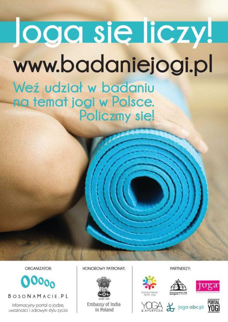 Joga się liczy badanie nt jogi www.badaniejogi.pl