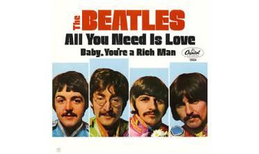 szczęśliwe życie the beatles all you need is love