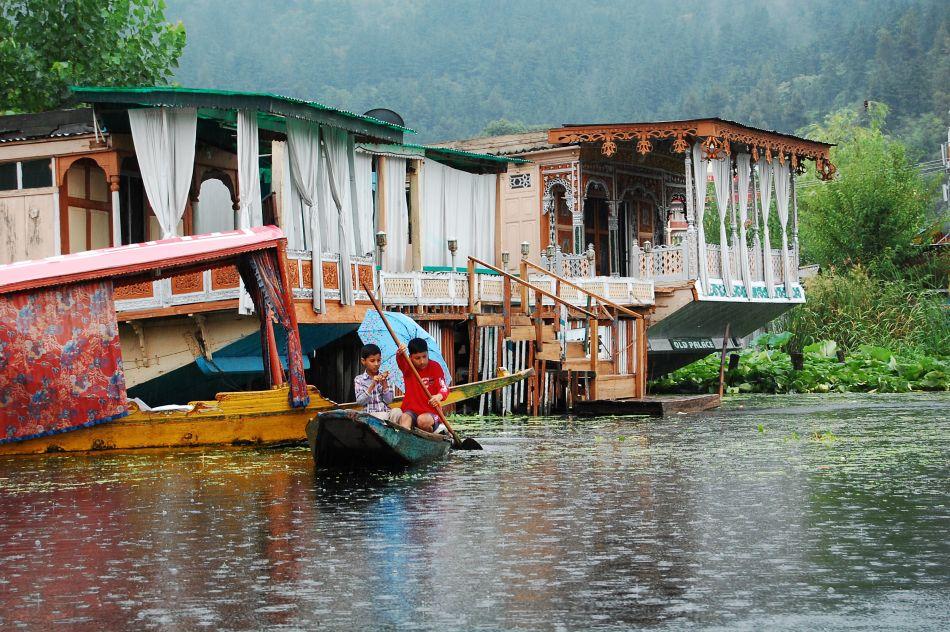 Kaszmir, jezioro Dal, Srinagar, Indie, podróże