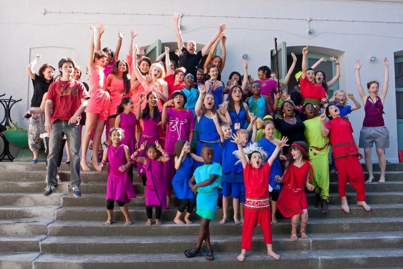 Brave kids, joga, joga dla dzieci