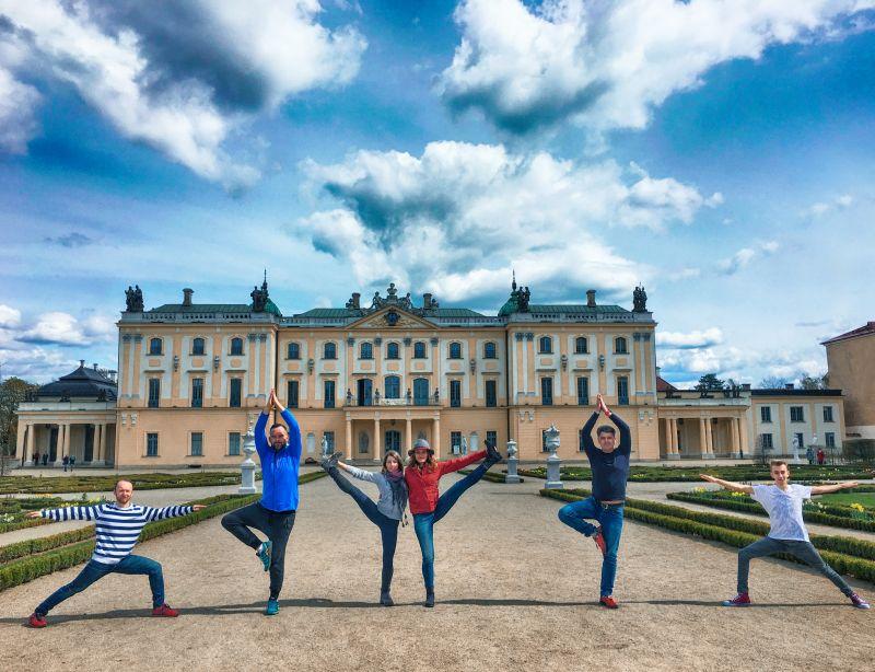 joga, Białystok, Dzień jogi, Ania Chomczyk