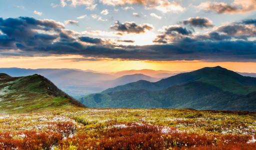 Joanna Jedynak Powitanie jesieni z jogą w Bieszczadach