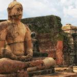 relacja z podróży, relacja ze Sri Lanki, Polonnaruwa, Vatadage - świątynia w Polonnaruwie