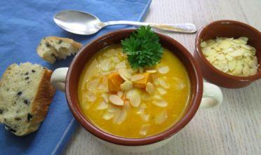 zupa krem z batatów, krem bataty