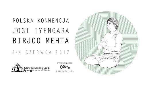 birjoo metha polska konwencja jogi iyengara 2017 Kraków