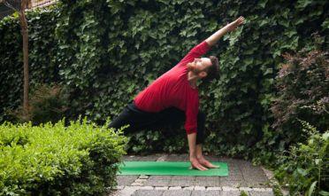 wiosenne porządki joga na wiosnę