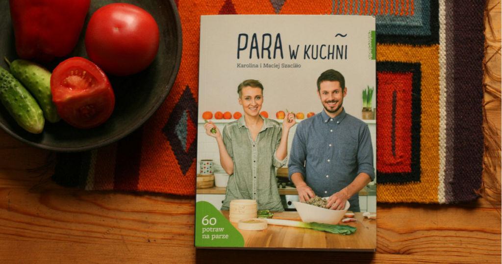 Para w kuchni Karolina i Maciej Szaciłło