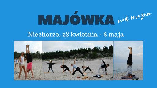 Joanna Jedynak Adam Ramotowski Joga Foksal majówka nad morzem Niechorze 2018