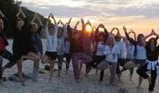 Happy Yoga Irena Kertyczak wakacje z jogą 2018 władysławowo chłapowo