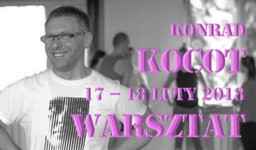 warsztat z Konradem Kocotem, luty 2018, Warszawa, Shakti Szkoła Jogi