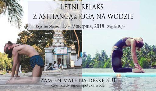 Krystian Mesjasz: Letni relaks z Ashtangą i SUP Yogą (Portugalia)