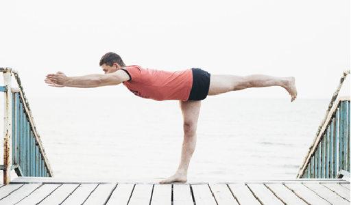 Marek Bednarski: Duchowo - medytacyjnie na ścieżce jogi: wakacje z jogą nad morzem (Mrzeżyno)