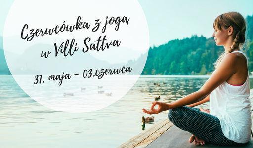 Sadhana Romek Grzeszykowski czerwcówka z jogą Villa Sattva Karkonosze 2018