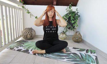 joga na migrenę, joga na ból głowy