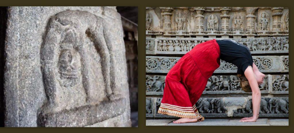 Po lewej: Jedna z płaskorzeźb w świątynnym kompleksie w Hampi (Karnatka). Zdjęcie: Seth Powell