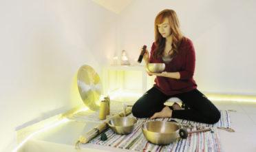 koshi, gong, joga na relaks, misy tybetańskie